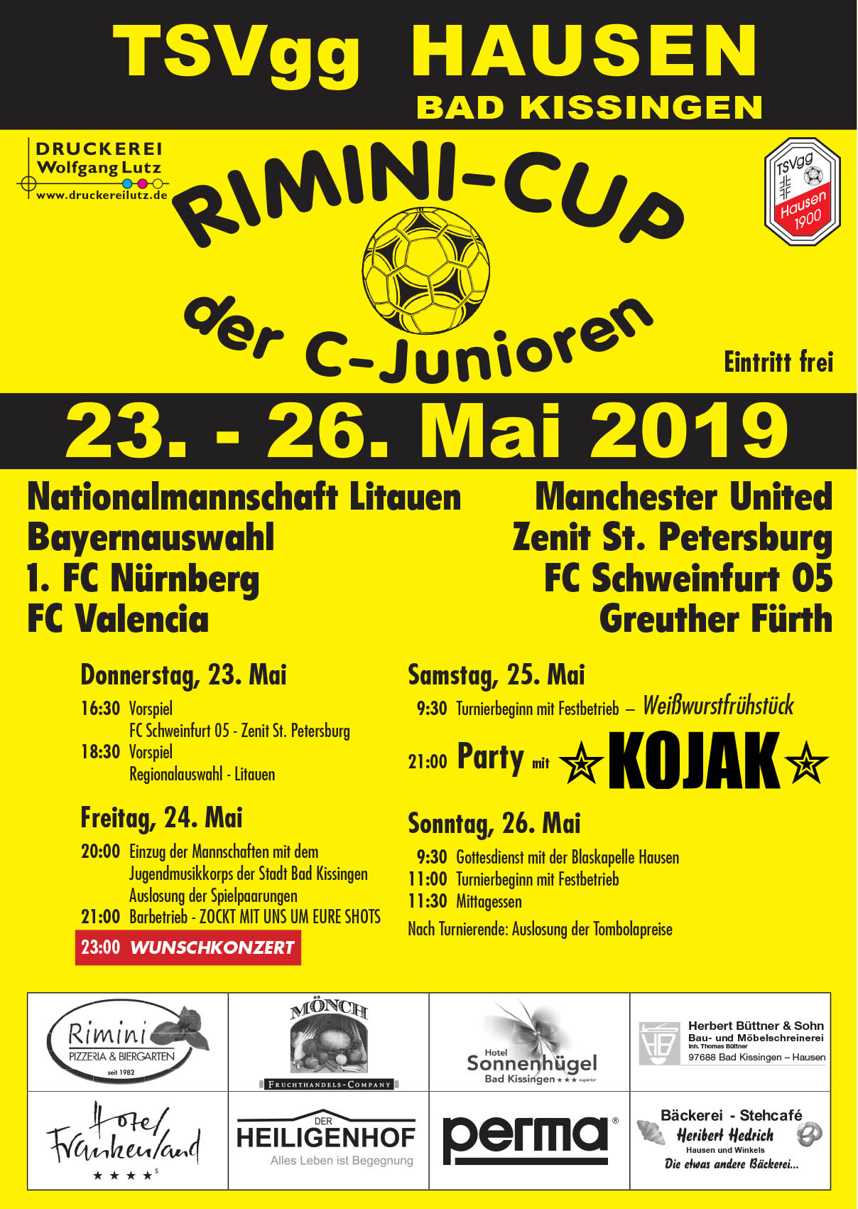Rimini Cup Plakat
